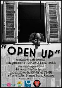 """Mostra di Malí Erotico """"Open Up"""" @ Torre Sulis (Alghero)"""